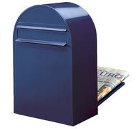 Bobi Bobi - Classic B Blue Rear Access Letter Box
