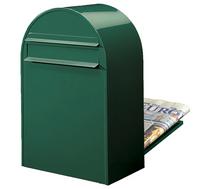 Bobi Bobi - Classic B Green Rear Access Letter Box