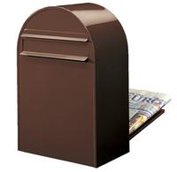 Bobi Bobi - Classic B Brown Rear Access Letter Box
