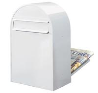 Bobi Bobi - Classic B White Rear Access Letter Box