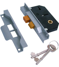 Union 2242 - 2 Lever Rebated Sashlock (65mm)