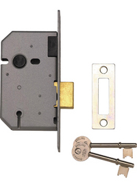 Union 2157 - 3 Lever Upright Deadlock (65mm)