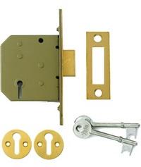Yale PM322 - 3 Lever Deadlock (67mm)