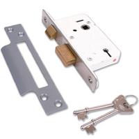 Legge 2763 - 3 Lever Sashlock (77mm)
