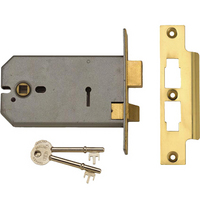 Union 2077 - 3 Lever Horizontal Sashlock (124mm)
