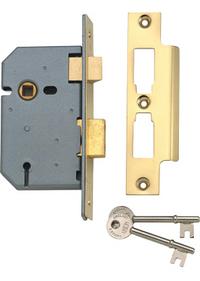 Union 2277 - 3 Lever Sashlock (65mm)