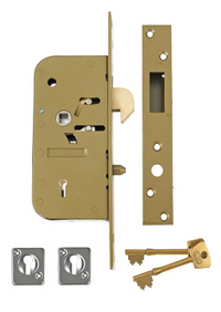 Union 3M51 - 5 Detainer Hookbolt Sliding Door Lock (70mm)