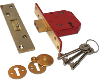Union 2134E - BS 5 Lever Deadlock (67mm)