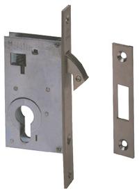 CISA 45110 - Euro Cylinder Hookbolt Sliding Door Case (50mm)