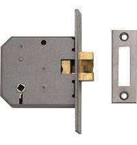 Union 2426 - Turn Operated Clawbolt Sliding Door Lock (77mm)