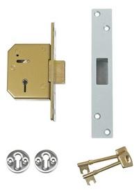 Union 3G115 - 5 Lever Deadlock (80mm)