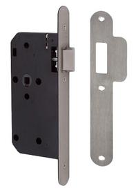 Union J2C23 DIN - Flat Pattern Latch (83mm) RD