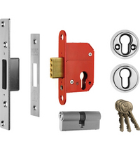 ERA 363 Fortress - BS Euro Cylinder Deadlock (79mm)