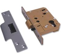 Asec Euro or Oval Cylinder Nightlatch Case (76mm)