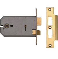 Union 2026 - Horizontal Bathroom Lock (124mm)