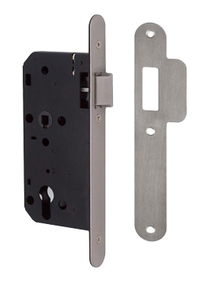 Union JL2C24 DIN - Euro Cylinder Nightlatch Case (83mm) RD