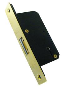 Asec 5 Lever Deadlock (50mm)