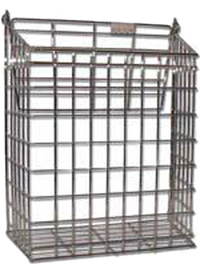 The Safe Shop Brass Letter Cage (Small)