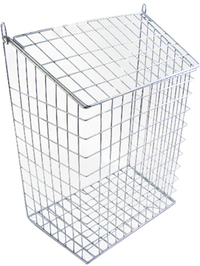 The Safe Shop Chrome Letter Cage (Small)