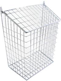 The Safe Shop Chrome Letter Cage (Medium)