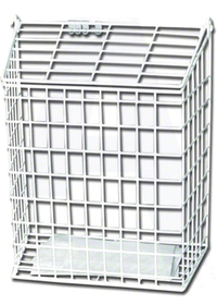 The Safe Shop White Letter Cage (Medium)
