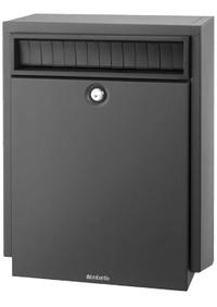 Brabantia Brabantia - B410 Dark Grey Post Box
