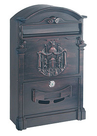 Rottner Ashford Antique - Steel Post Box