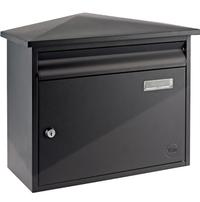 Yale Yale Texas Black - Steel Post Box