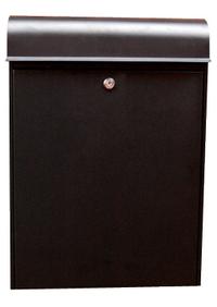 G2 Post Boxes Black Parcel Post Box