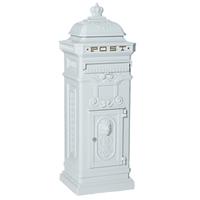 Rottner Royal White - Pillar Post Box