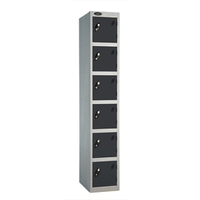 Probe 6 Door - Black Locker