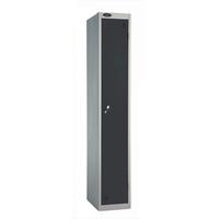 Probe 1 Door - Extra Deep Black Locker