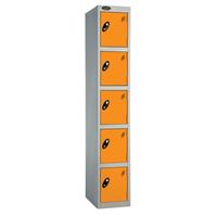 Probe 5 Door - Deep Orange Locker