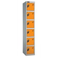 Probe 6 Door - Deep Orange Locker