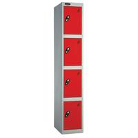 Probe 4 Door - Deep Red Locker