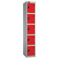 Probe 5 Door - Deep Red Locker