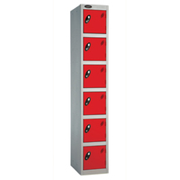 Probe 6 Door - Deep Red Locker