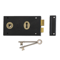 Union 1448 - Double Handed 1 Lever Rimlock (140mm) L/H
