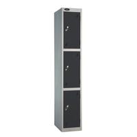 Probe 3 Door - Extra Deep Black Locker