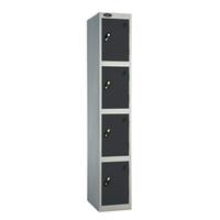 Probe 4 Door - Extra Deep Black Locker