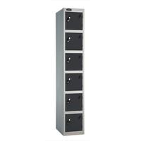 Probe 6 Door - Extra Deep Black Locker