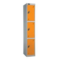 Probe 3 Door - Extra Deep Orange Locker
