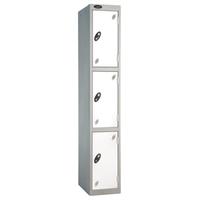 Probe 3 Door - Extra Deep White Locker