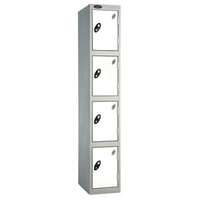 Probe 4 Door - Extra Deep White Locker