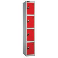 Probe 4 Door - Extra Deep Red Locker