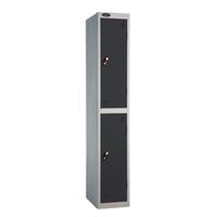 Probe 2 Door - Wide Black Locker