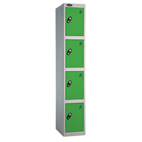 Probe 4 Door - Wide Green Locker