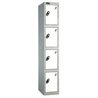 Probe 4 Door - Wide White Locker