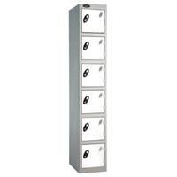 Probe 6 Door - Wide White Locker