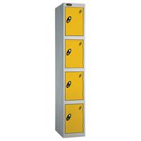 Probe 4 Door - Wide Yellow Locker